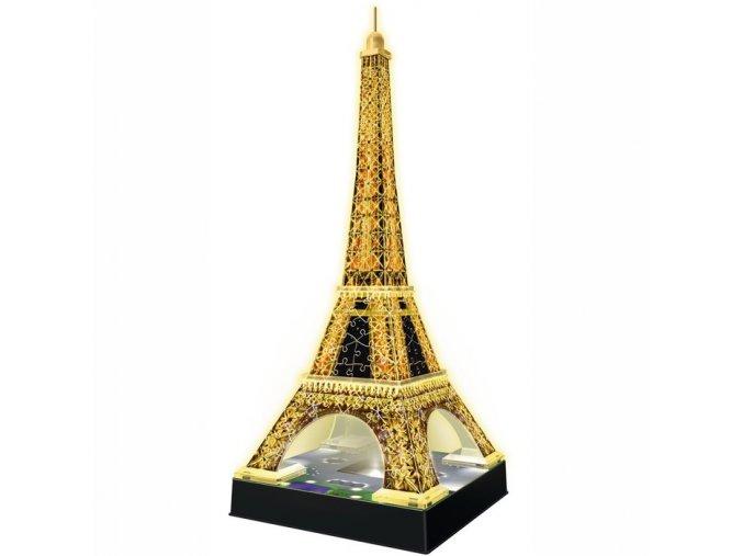 Ravensburger 3D puzzle Eiffelova věž Noční edice 216 dílků