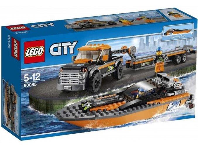 LEGO City 60085 Motorovy clun 4x4 1