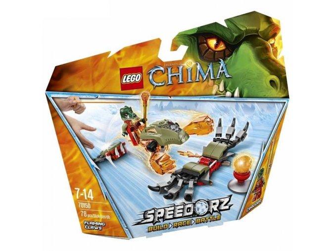 LEGO Chima 70150 Ohnive drapy 1