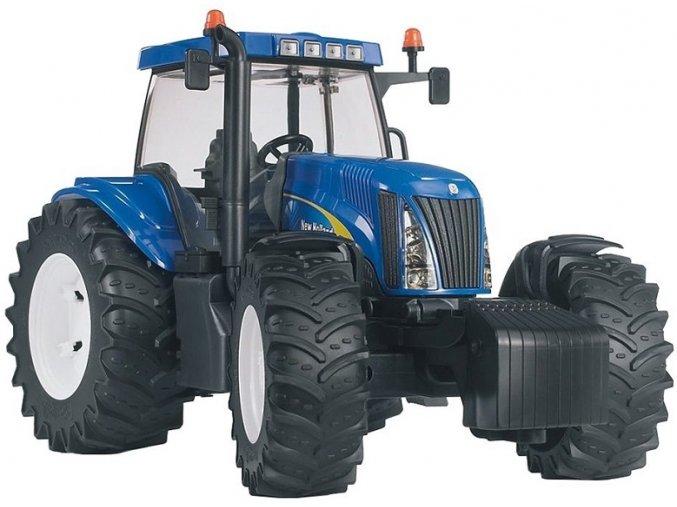 BRUDER 3020 Traktor New Holland T8040
