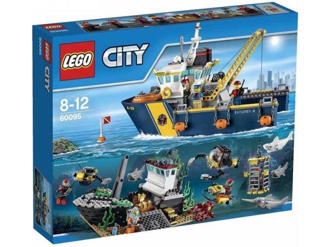 LEGO City 60095 Plavidlo pro hlubinny morsky vyzkum 1