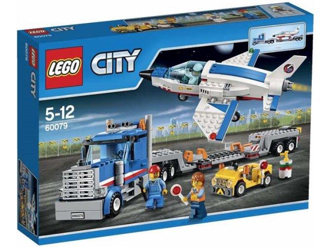 LEGO City 60079 Transporter pro prevoz raketoplanu 1