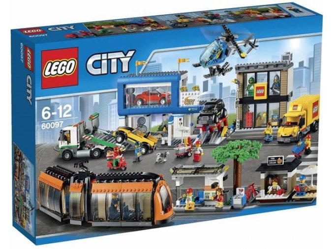 LEGO City 60097 Namesti ve meste 1