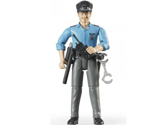 BRUDER 60050 Bworld Figurka MUŽ policista