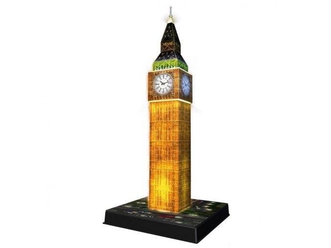 3D puzzle Big Ben - noční edice 216 dílků, Ravensburger
