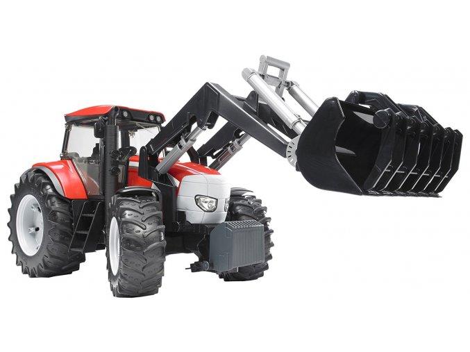 BRUDER 3061 Traktor McCormick XTX 165 + čelní nakladač