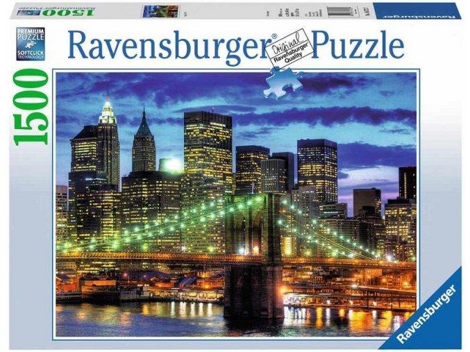 puzzle Mrakodrapy New York City 1500d, Ravensburger