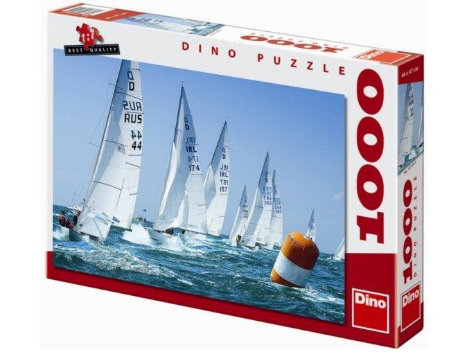 puzzle Závodní plachetnice 1000d, Dino