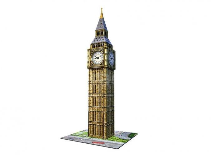 3D puzzle Big Ben s hodinami 216 dílků Ravensburger