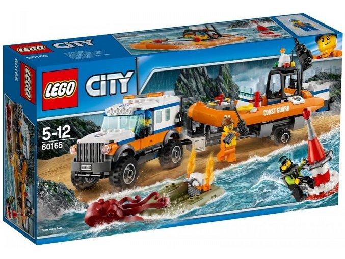 LEGO City 60165 Vozidlo zasahove jednotky 4x4