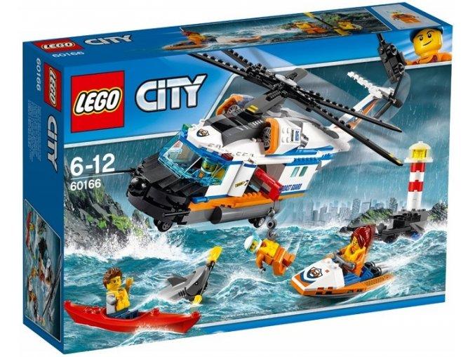 LEGO City 60166 Vykonna zachranarska helikoptera