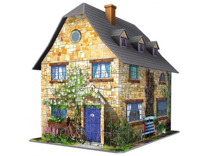 Ravensburger 3D puzzle Anglická chata 216 dílků