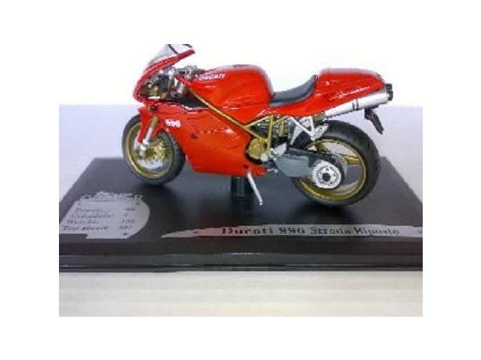Ducati 996 Strada Biposto 1:18, Solido