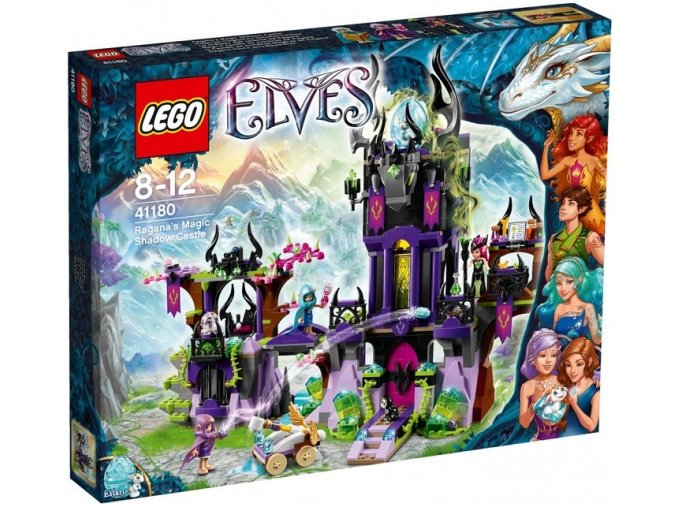 LEGO Elves 41180 Ragana a kouzelny temny hrad