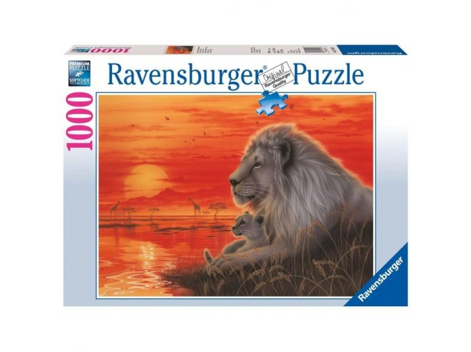 puzzle Afrika 1000d, Ravensburger