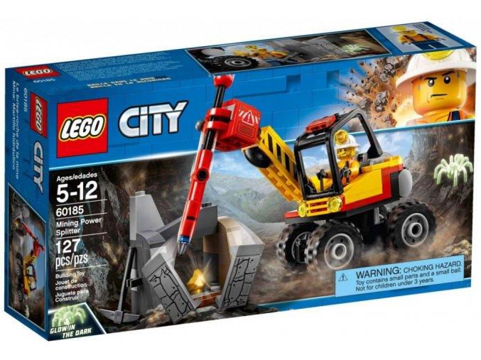 LEGO City 60185 Důlní drtič kamenů