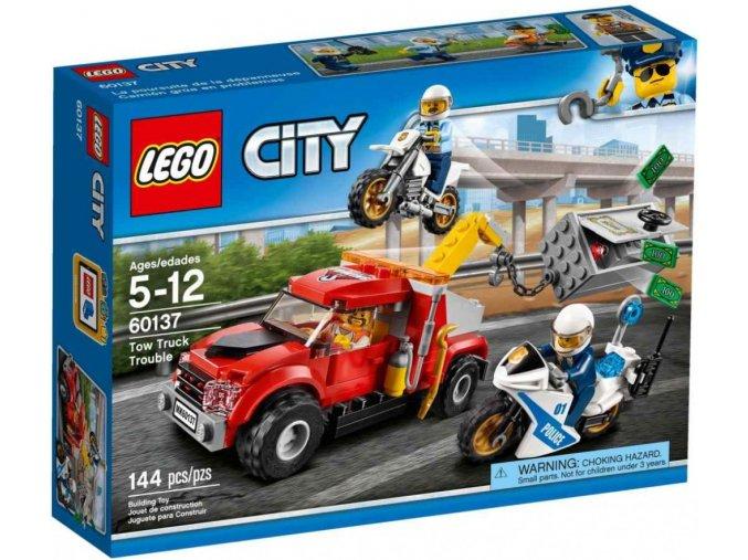 LEGO City 60137 Trable odtahového vozu