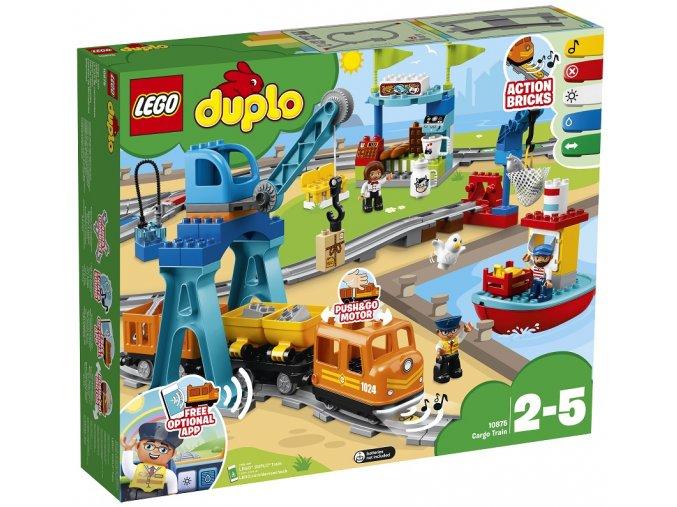 LEG DUPLO 10875 Nákladní vlak
