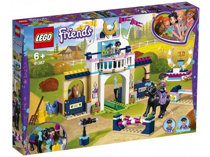 LEGO Friends 41367 Stephanie a parkurové skákaní
