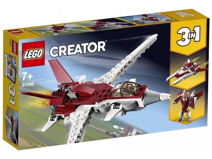 LEGO Creator 31086 Futuristický letoun