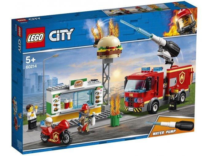 LEGO City 60214 Záchrana burgrárny