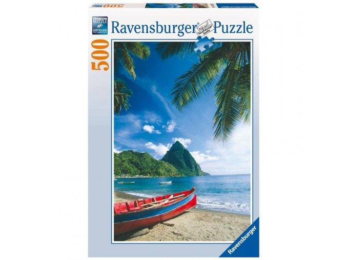 puzzle V ráji 500d, Ravensburger