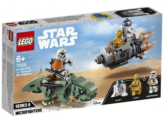 LEGO Star Wars 75228 Únikový modul vs. Dewback