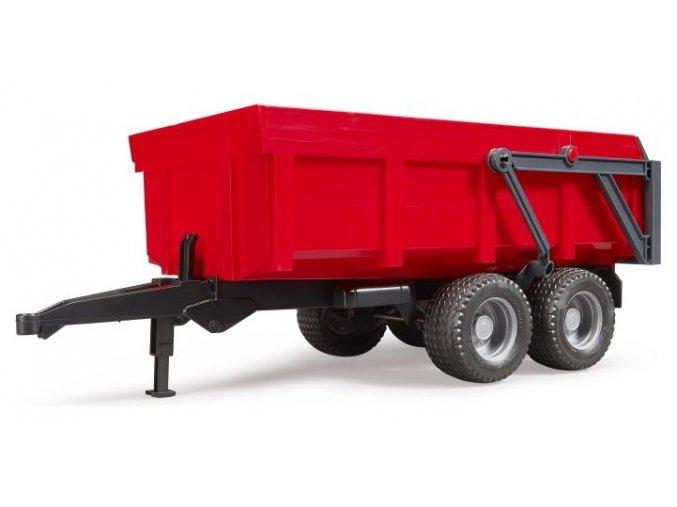 Bruder 2211 Valník s automatickou zadní stěnou červený