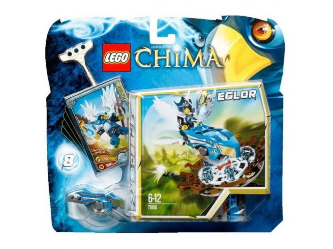 LEGO Chima 70105 Trefa do hnízda