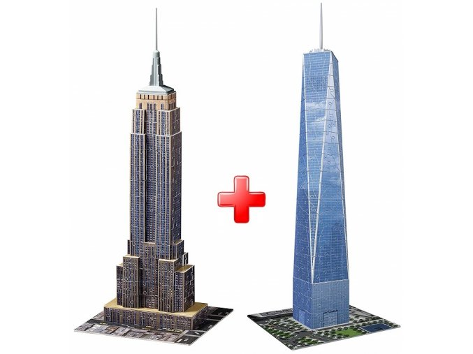 3D Sada Empire State Building + Trade Centre