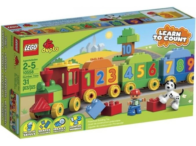LEGO DUPLO 10558 Vlacek plny cisel 1