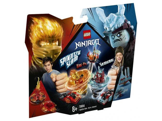 LEGO Ninjago 70684 Spinjutsu výcvik – Kai vs. Samuraj