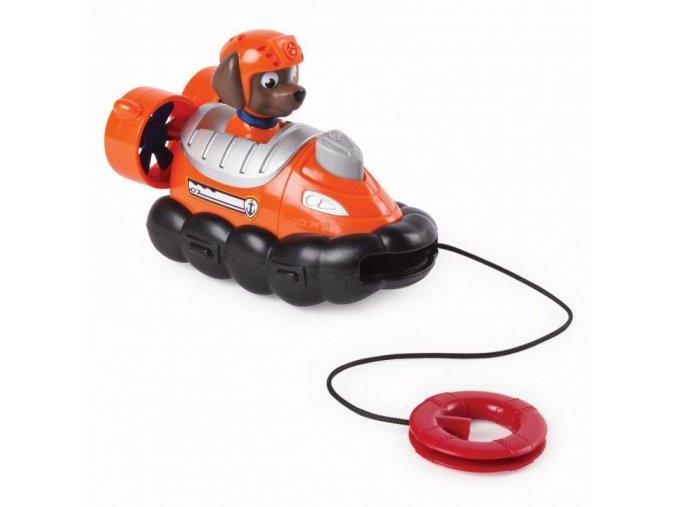 Spin Master Paw Patrol Malá vozidla s figurkou Zuma a jeho záchranářské vodní vznášedlo