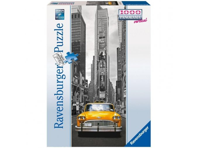 puzzle New York Taxi 1000d, vertical, Ravensburger