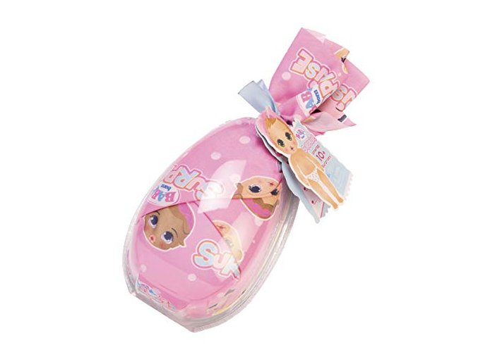 Zapf Creation BABY BORN Panenka miminko Surprise v uzlíčku