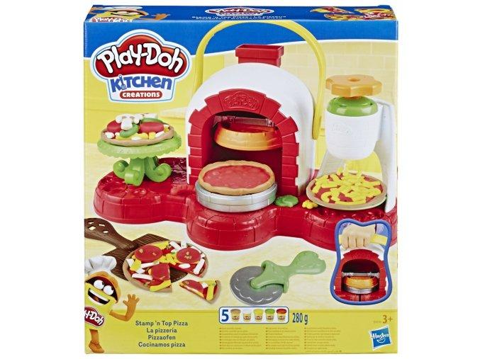 Play-Doh Pec na pizzu