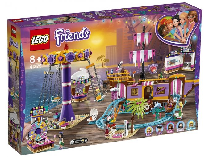 LEGO Friends 41375 Zábavný park na molu