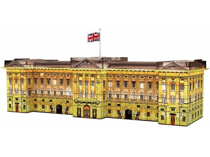 Ravensburger 3D puzzle Buckinghamský palác Noční edice 216 dílků
