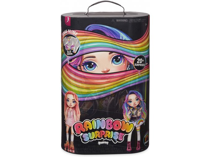 MGA Poopsie Rainbow Surprises Duhová panenka - Růžová/Duhová
