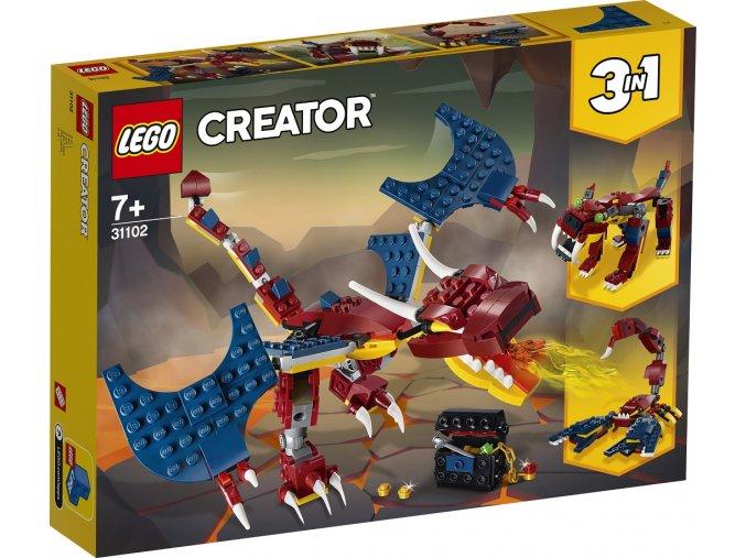 LEGO Creator 31102 Ohnivý drak