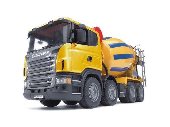 BRUDER 3554 Nakladni auto SCANIA domichavac betonu 2