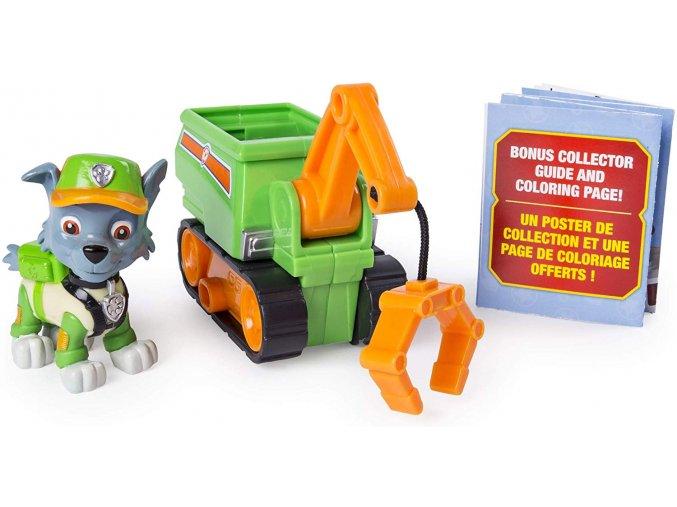 Spin Master Paw Patrol Vozidlo s figurkou Ultimate Rescue Rocky