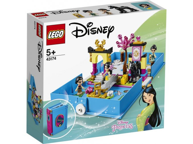 LEGO Disney Princezny 43174 Mulan a její pohádková kniha dobrodružství