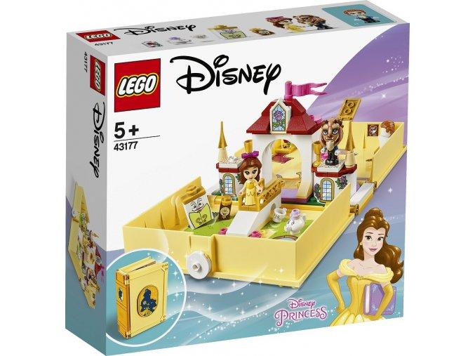 LEGO Disney Princezny 43177 Bella a její pohádková kniha dobrodružství
