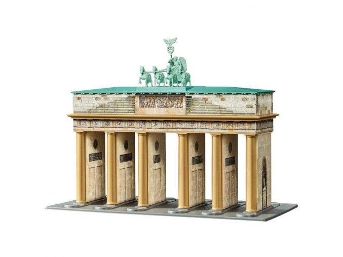 3D puzzle Brandenburska brana 324 dilku Ravensburger 2