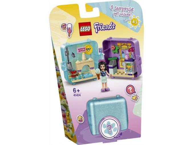 LEGO Friends 41414 Herní boxík: Emma a její léto
