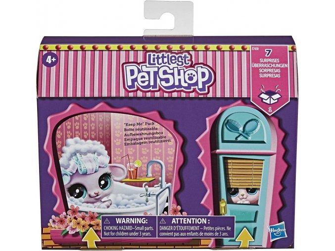 Hasbro Littlest Pet Shop Zdobený salón
