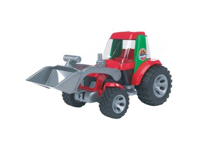 BRUDER 20102 ROADMAX Traktor s radlicí