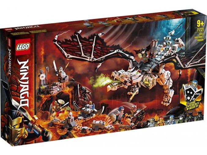 LEGO Ninjago 71721 Drak Čaroděje lebek