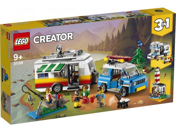 LEGO Creator 31108 Rodinná dovolená v karavanu